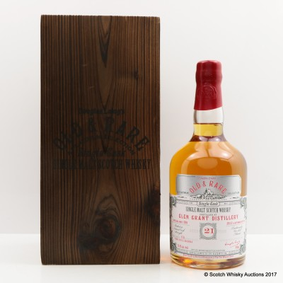 Glen Grant 1991 21 Year Old Old & Rare
