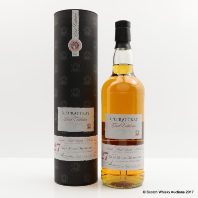 Glen Mhor 1982 27 Year Old A.D.Rattray 75cl