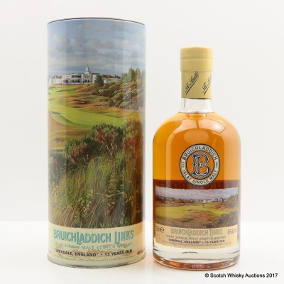 Bruichladdich Links Birkdale England 15 Year Old