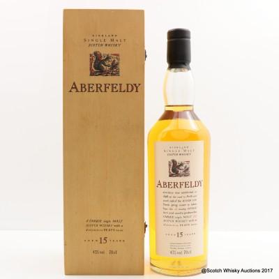 Flora & Fauna Aberfeldy 15 Year Old in Wooden Box