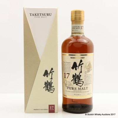 Nikka Taketsuru Pure Malt 17 Year Old