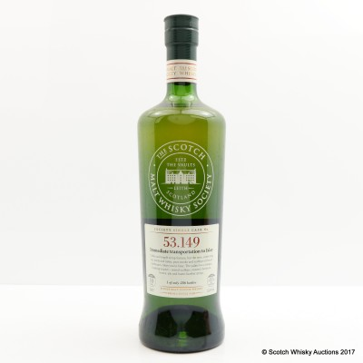SMWS 53.149 Caol Ila 10 Year Old