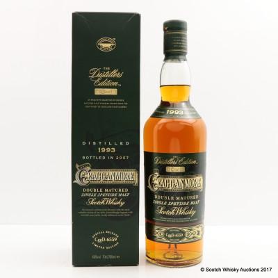 Cragganmore 1993 Distillers Edition