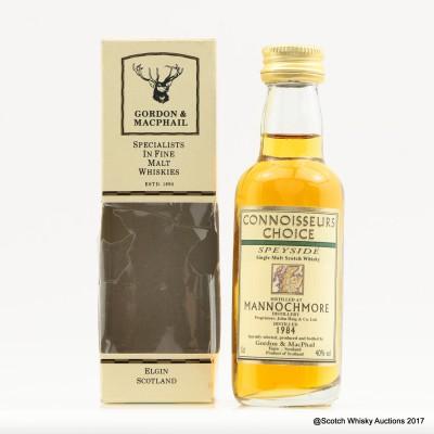 Mannochmore 1984 Connoisseurs Choice Mini 5cl