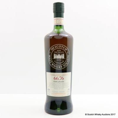 SMWS 66.76 Ardmore 2004 10 Year Old