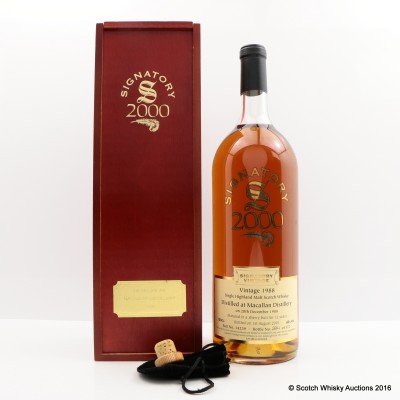 Macallan 1988 12 Year Old Signatory 150cl