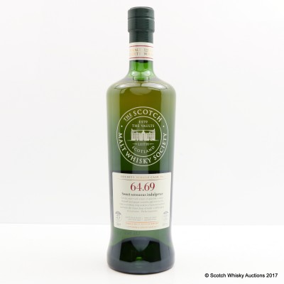 SMWS 64.69 Mannochmore 1990 25 Year Old