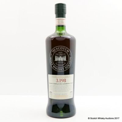 SMWS 3.198 Bowmore 1997 14 Year Old 75cl