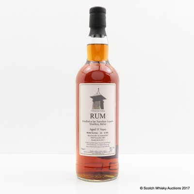 Travellers Liquors 2005 11 Year Old Rum Whisky Broker