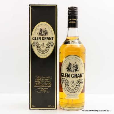 Glen Grant Old Style 75cl Charity Lot