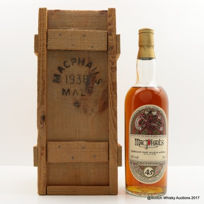 MacPhail's 1938 45 Year Old 75cl