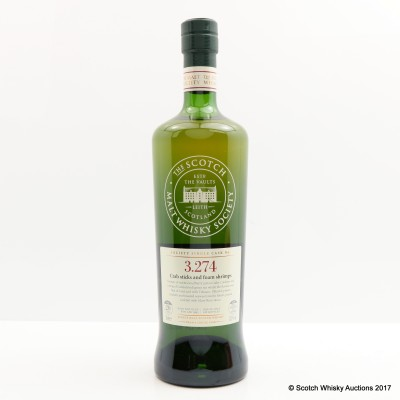 SMWS 3.274 Bowmore 1995 20 Year Old