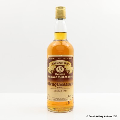 Glenglassaugh 1967 17 Year Old Connoisseurs Choice 75cl