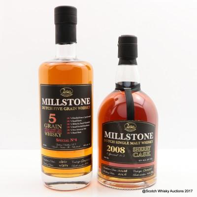Millstone 5 Grain & Millstone 2008 Sherry Cask