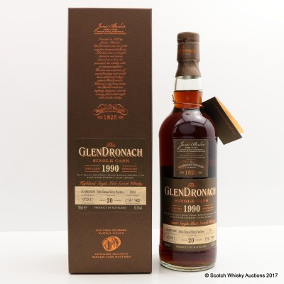GlenDronach 1990 20 Year Old Single Cask #1032