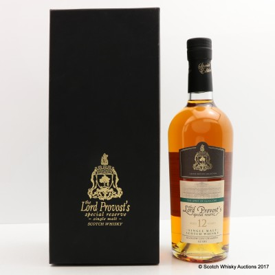 Lord Provost's Special Reserve 12 Year Old