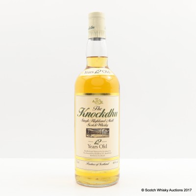 Knockdhu 12 Year Old 75cl