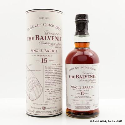 Balvenie 15 Year Old Single Sherry Barrel