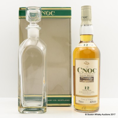 anCnoc 12 Year Old & Decanter