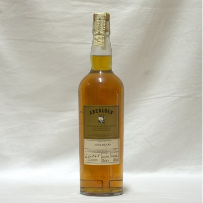 Aberlour Millennium Jock Deans Bottling