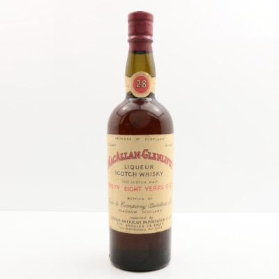Macallan-Glenlivet 28 Year Old Row & Company 4/5 Quart