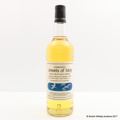 Bowmore 1989 Lombard's Jewels Of Islay