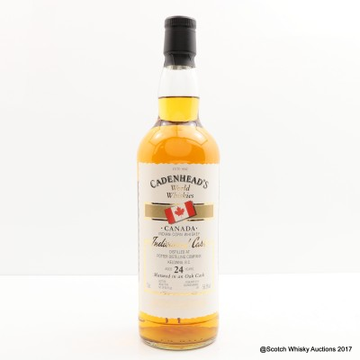 Potter Distilling Company 24 Year Old Cadenhead's