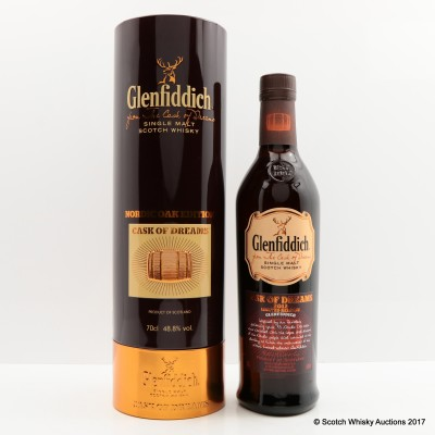Glenfiddich Cask Of Dreams 2012 Nordic Oak Edition