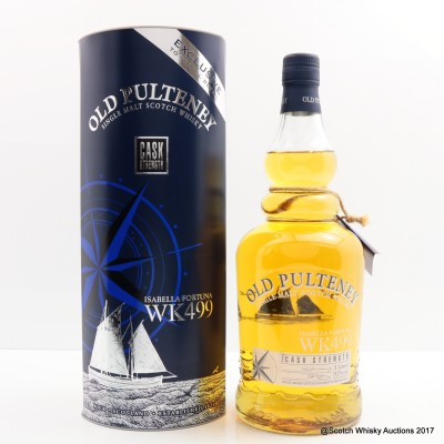 Old Pulteney Isabella Fortuna WK499 1st Release 1L
