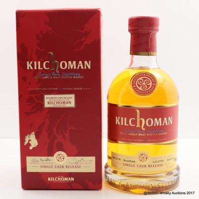 Kilchoman 2008 Single Bourbon Cask Distillery Exclusive