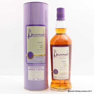 Benromach 5 Year Old Sassicaia Finish