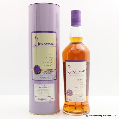 Benromach 22 Year Old Port Wood Finish