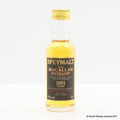 Macallan 1991 Speymalt Mini 5cl