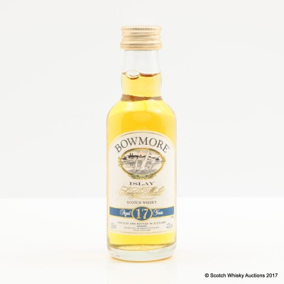 Bowmore 17 Year Old Mini 5cl