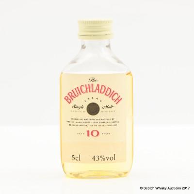 Bruichladdich 10 Year Old Mini 5cl