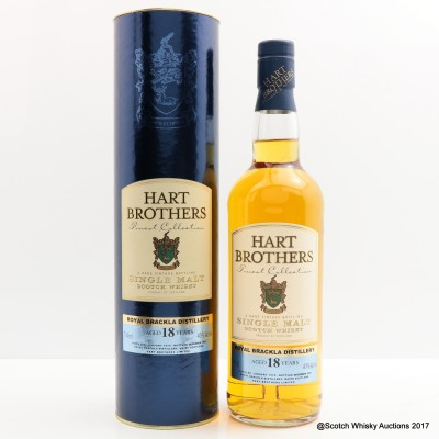 Royal Brackla 18 Year Old Hart Brothers