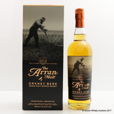 Arran Orkney Bere 2012