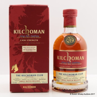 Kilchoman Small Batch Release For The Kilchoman Club 4th Edition