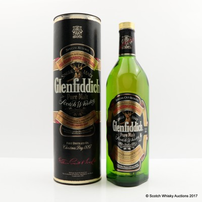 Glenfiddich Pure Malt 1L