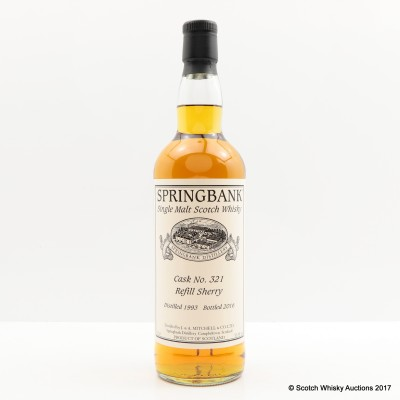 Springbank 1993 Single Cask #321