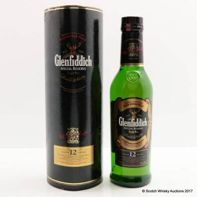 Glenfiddich 12 Year Old Special Reserve 35cl