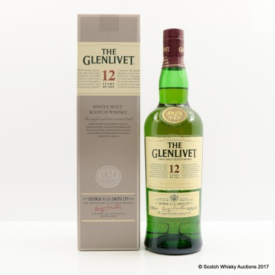 Glenlivet 12 Year Old