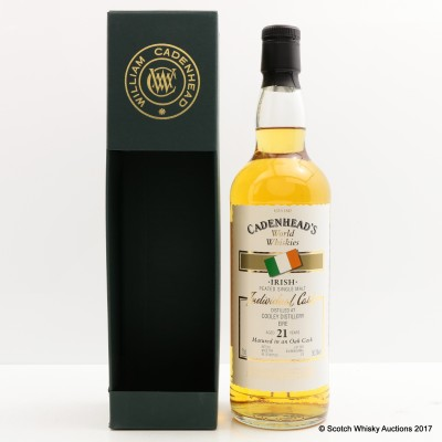 Cooley Peated 21 Year Old Cadenhead's