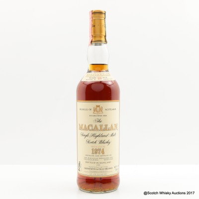 Macallan 18 Year Old 1974