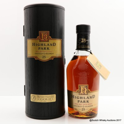 Highland Park 25 Year Old Dumpy Bottle
