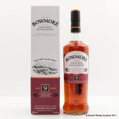 Bowmore 9 Year Old Sherry Cask
