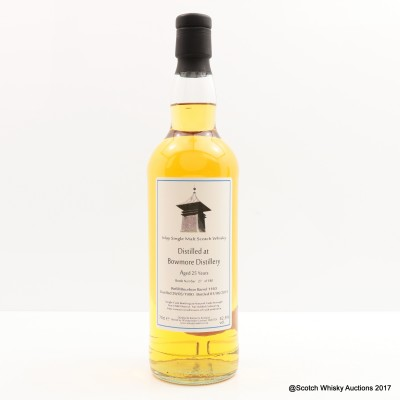 Bowmore 1990 27 Year Old Whisky Broker