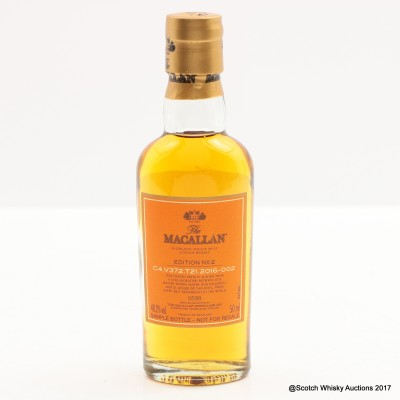 Macallan Edition No2 Mini 5cl