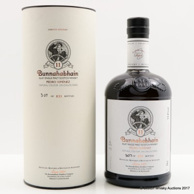 Bunnahabhain 11 Year Old Pedro Ximenez Finish