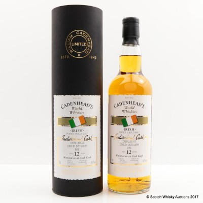 Cooley 12 Year Old Cadenhead's